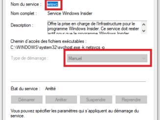 Windows Insider : Comment désactiver le service dans Windows 10