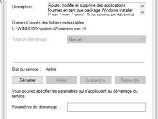 Windows Installer : Comment l'activer ou le désactiver sous Windows 10