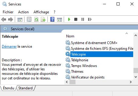 Windows 10 Services inutiles