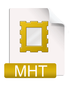 fichier MHT