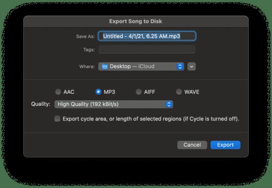 Comment convertir une vidéo en audio sur Mac