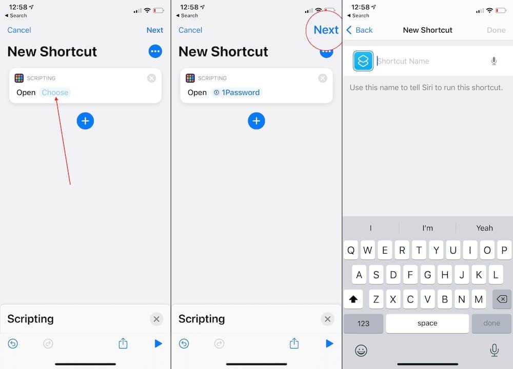 Modifier les raccourcis des icônes iPhone 2