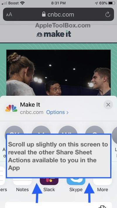 Comment imprimer sous iOS 13