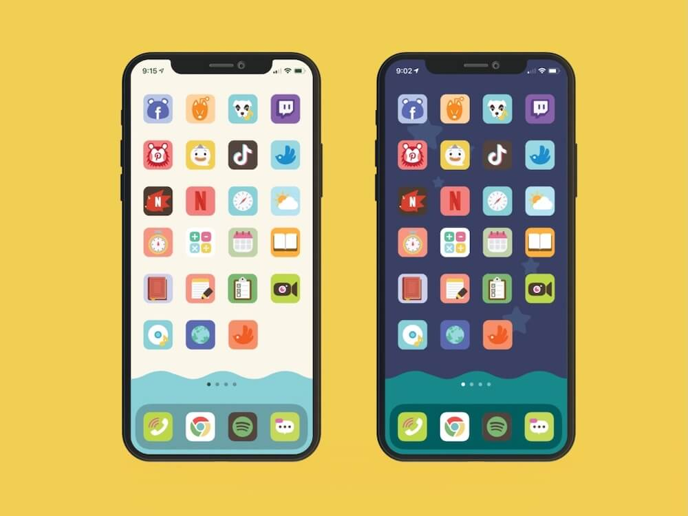 Pack d'extension d'icônes par okpng