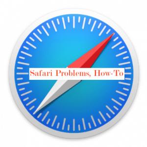 Problèmes de Safari