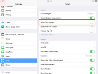 Safari se bloque après avoir tapé dans la barre de recherche - iOS 9.2.1
