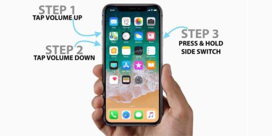Le redémarrage forcé ne fonctionne pas sur l'iPhone 8 ou l'iPhone X?