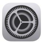 icône des paramètres iOS