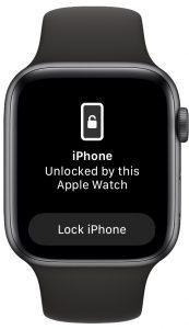 Comment déverrouiller l'iPhone avec Apple Watch