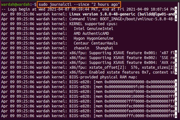 Comment utiliser la commande Linux Journalctl ?