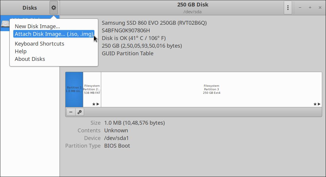 Comment monter des fichiers image ISO sous Linux