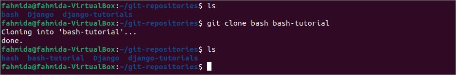 Comment cloner un référentiel git