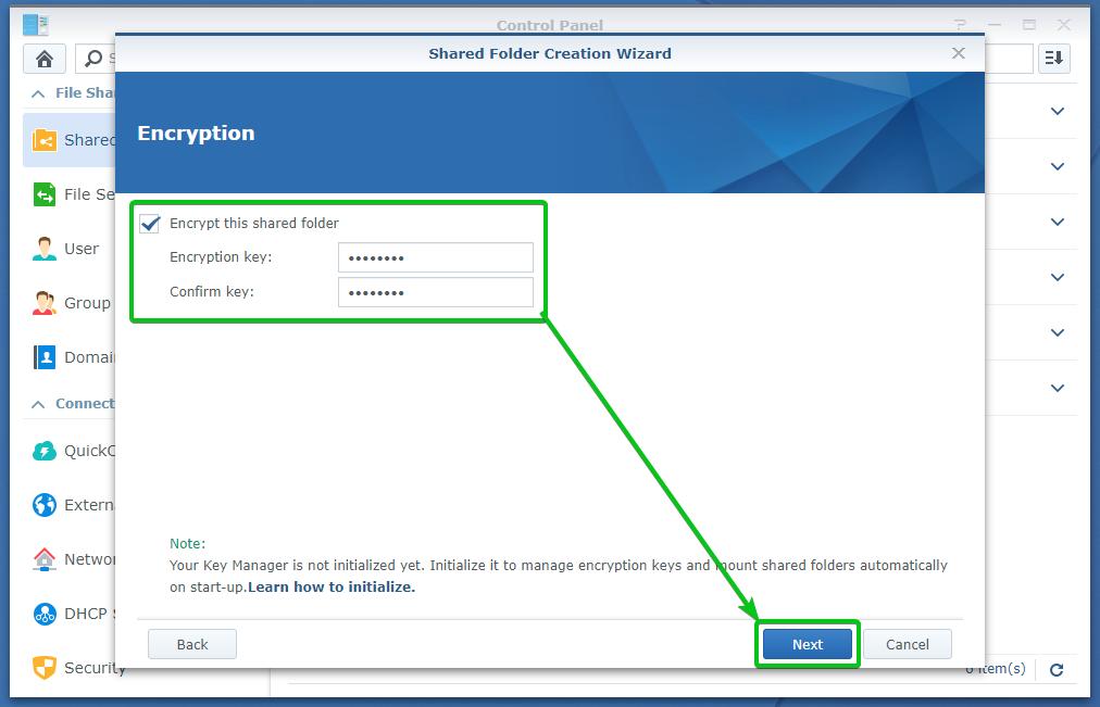 Synology NAS : Comment configurer le chiffrement