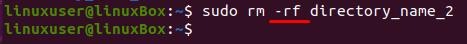 Comment supprimer un répertoire sous Linux