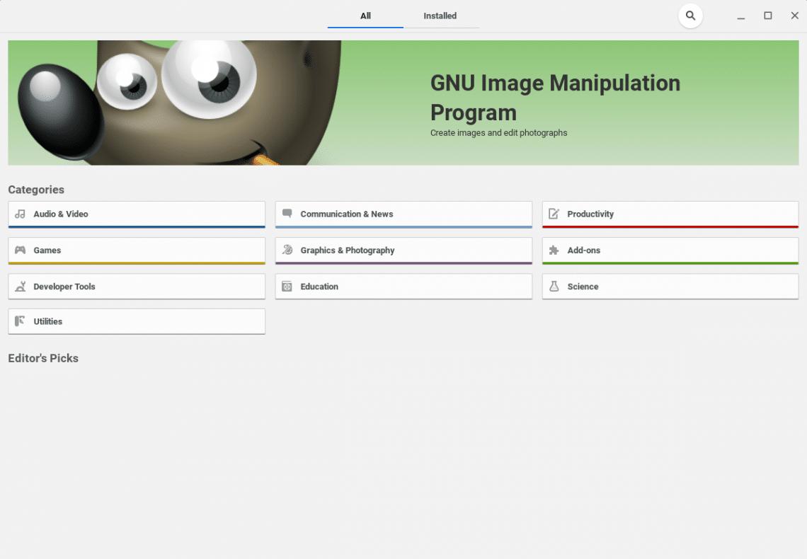 programme de manipulation d'images gnome