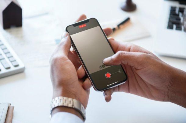 Comment enregistrer une vidéo tout en jouant de la musique sur iPhone