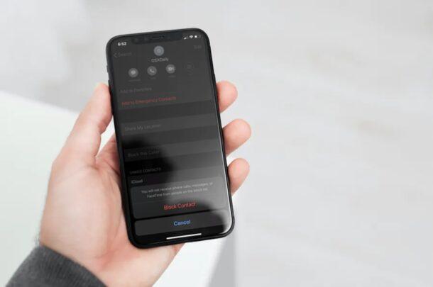 Comment voir la liste de tous les numéros bloqués sur iPhone