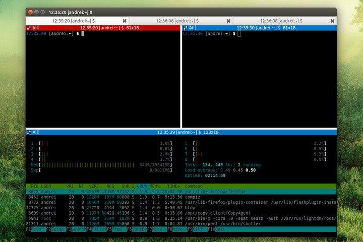 Émulateur de terminal Terminator Linux