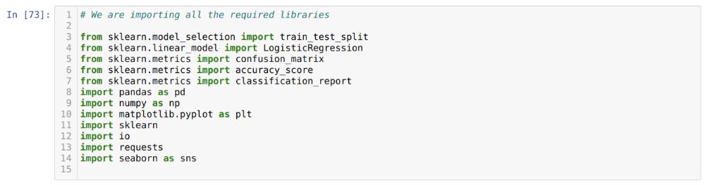 Régression logistique en Python