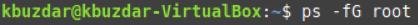 Exemples de commandes Linux «ps»